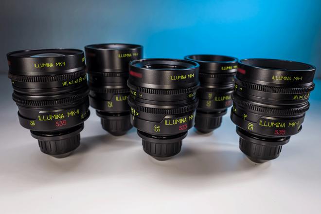 Lomo Illumina S35 MK2 Primes (18, 25, 35, 50, 85)