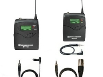 Rent: Sennheiser G2 Wireless Lav Set with Batteries (1 of 2)