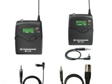 Rent: Sennheiser G2 Wireless Lav Set with Batteries (1 of 2)