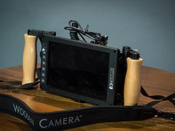 SmallHD 702 OLED WITH SIDEKICK Accurate Directors Monitor