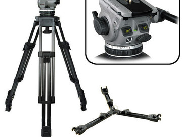 Rent: Cartoni D601 Tripod (100mm ); Matte Box, 8 ND/ IRND filters