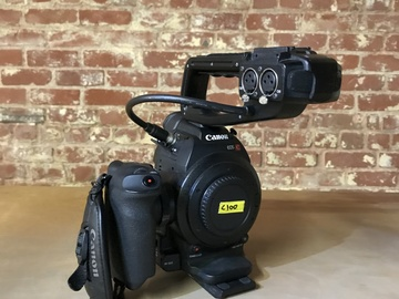 Rent: Canon EOS C100 Cinema Camera (Body Only)