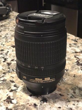 Nikon 18‑105mm f/3.5‑5.6 AF‑S DX VR ED Nikkor