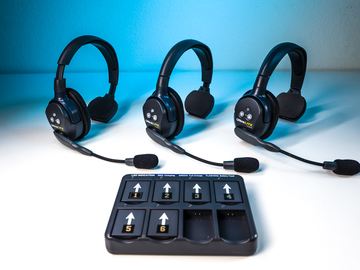 Rent: EarTec UltraLITE Wireless Headsets (3 set)