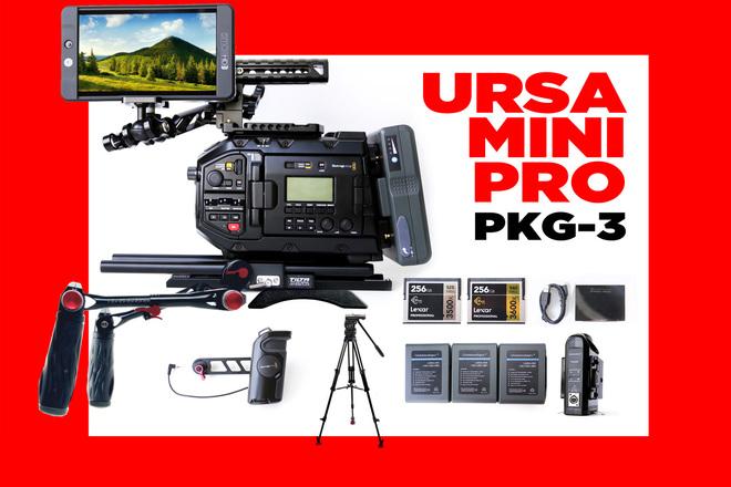 URSA Mini Pro 4.6K  +   MONITOR 702 SMALLHD