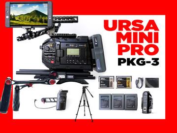 Rent: Blackmagic URSA Mini Pro   +   MONITOR 702 SMHD