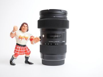 Rent: Sigma 18-35mm f/1.8 DC HSM Art - Canon Mount