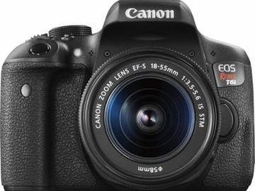 Rent: Canon EOS Rebel T6i