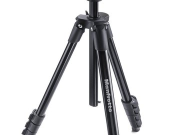 Rent: Manfrotto Compact Action Aluminum Tripod with Hybrid Head