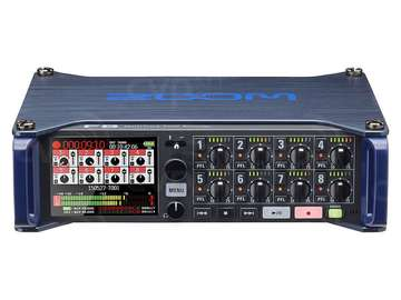 Rent: Zoom F8 MultiTrack Field Recorder - Batteries, Cards, Case