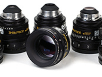 Rent: ARRI Ultra Primes 6 lens set perfect condition