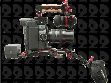 Rent: Canon EOS C300 Mark II Kit + Zacuto EVF Rig + 24-105mm f/4 L