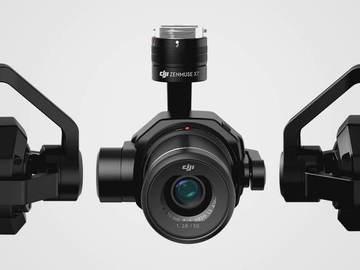 Rent: Zenmuse X7 with 4 Lenses