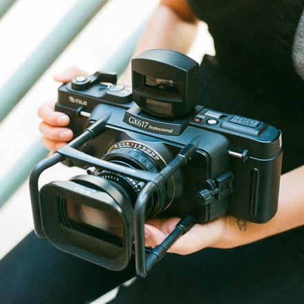 Fuji GX617 Panorama Medium Format 120 Film Camera w/2 Lenses