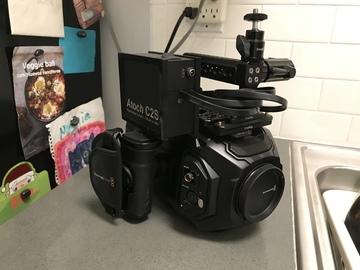 Rent: Blackmagic URSA Mini 4K Package + Lenses