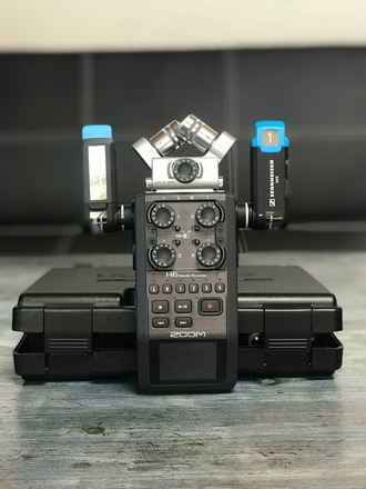 Zoom H6 Handy Recorder with Interchangeable Mic System