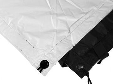 Rent:  6X6' | ULTRA BOUNCE | WHITE/BLACK | SILVER BAG