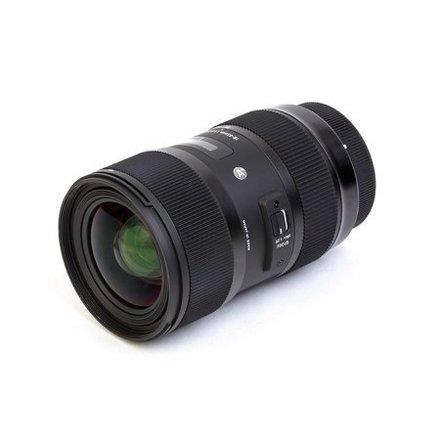 Sigma 18-35 F1.8 Art Zoom EF Mount W Tiffen ND/ Lens Gears