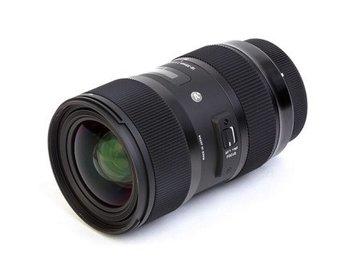 Rent: Sigma 18-35 F1.8 Art Zoom EF Mount W Tiffen ND/ Lens Gears
