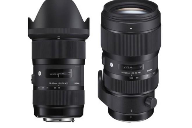 Sigma 18-35 & 50-100 F1.8 Art Lens Kit / Lens Gears / ND