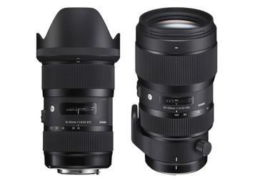 Rent: Sigma 18-35 & 50-100 F1.8 Art Lens Kit / Lens Gears / ND