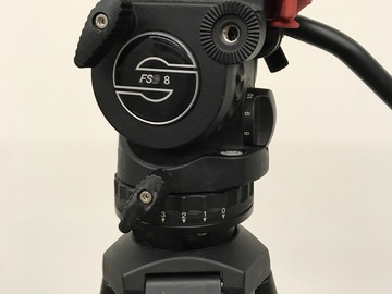 Rent: Sachtler FSB 8 T with Speed Lock 75 Tripod 1 of 5