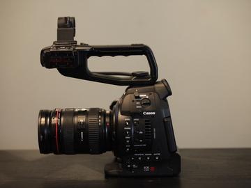 Rent: Canon EOS C100 Cinema Camera/  Canon 24-70mm 2.8