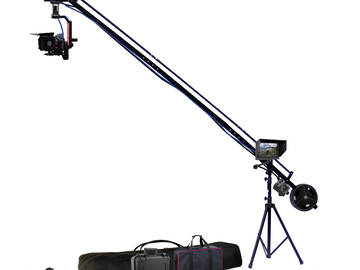 "Rent: 12 foot remote head camera jib w/ 7"" HD monitor"
