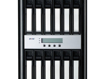 Rent: Areca ARC-8050T3-12  12Bay Thunderbolt 3 12TB SSD RAID