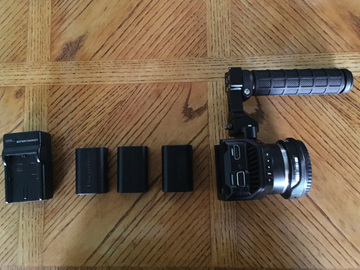 Rent: Black Magic Micro Cinema Camera + BMPCC Speedbooster+Monitor