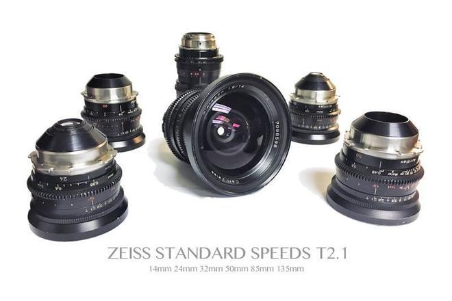Zeiss Standard Speed T2.1 Six Lens Set