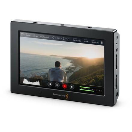 Blackmagic  4K 7-in HDMI/6G-SDI Recording Monitor