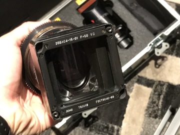 Rent: Lomo Square-Front Anamorphic 50mm ONLY