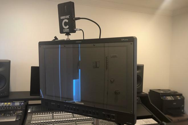 Wireless Video Village - Panasonic BT-LH1850 + Ghost-Eye