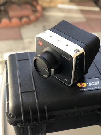 Blackmagic Production Camera 4K with Tokina & Sigma lenses