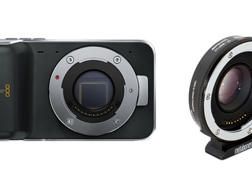 Rent: Blackmagic Pocket Cinema Camera + Metabones Speedbooster