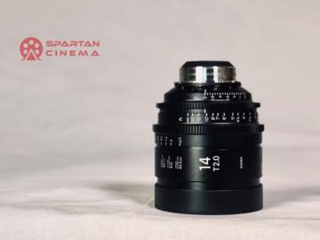 Rent: Sigma 14mm T2.0 Cine Prime (PL)