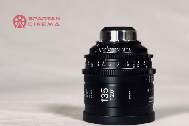 Sigma 135mm T2.0 Cine Prime (PL)