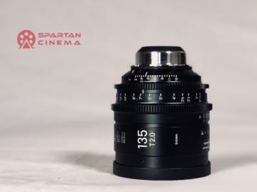 Rent: Sigma 135mm T2.0 Cine Prime (PL)