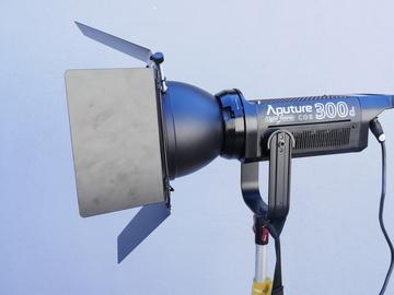 Rent: Aputure Light Storm C300D LED Light Basic Kit (300D) 2 of 3