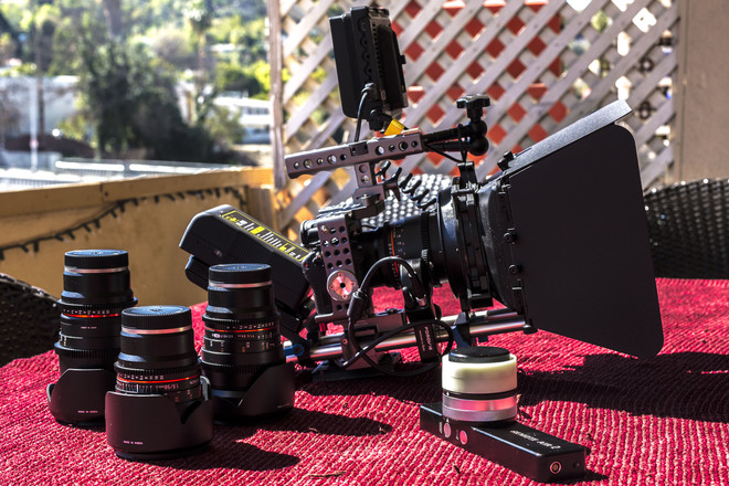 Sony A7Sii + 4 Lenses & Kit + Ronin-M