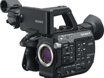 Sony PXW-FS5 RAW with Canon speedbooster