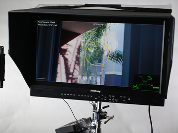 Rent: 21'' Wireless Filed Monitor  Kit Vaxis 500ft+ With FSI AM210