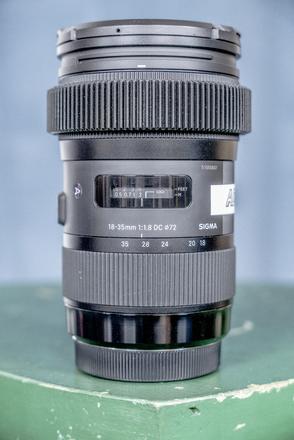 Sigma Art 18-35 F1.8 w/ Permanent Focus Gear (EF Mount)