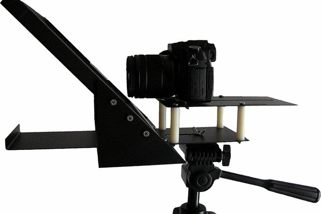 iPad / Tablet Teleprompter, R810-10 with Beam Splitter Glass