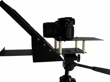 Rent: iPad / Tablet Teleprompter, R810-10 with Beam Splitter Glass
