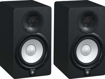 Rent: Yamaha HS5 Powered Studio Monitor 70W Speakers(Pair)