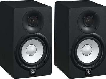 Rent: Yamaha HS5 Powered Studio Monitor 70W Speakers(Pair)