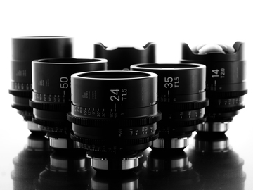 Rent: Sigma Cine FF High Speed Primes