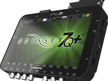 Rent: ODYSSEY 7Q+ WITH RAW UPGRADE AND TWO 512 GIG CARDS